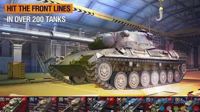 World of Tanks Blitz pour iOS 2.9.0 - Le jeu de tir classique sur iPhone / iPad
