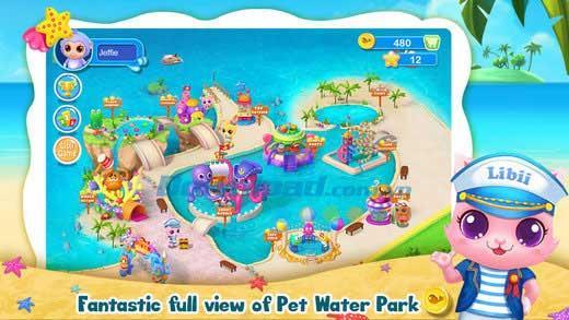 Pet Water Park für iOS 1.0 - Wasserparkspiel für Haustiere auf iPhone / iPad
