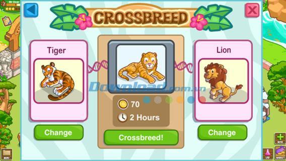 Zoo Story 2-for iOS 1.1.3-iPhone / iPadの動物園管理ゲーム