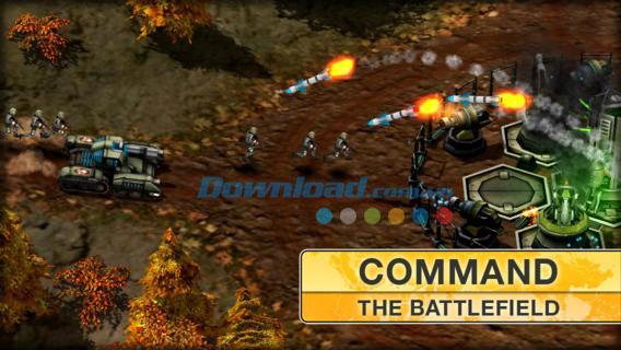iOS1.3用のModernCommand-iPhone / iPadでの防衛戦略ゲーム