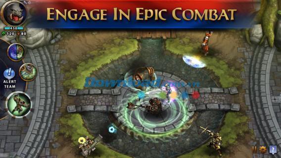 Solstice Arena for iOS 1.07-iPhone / iPadでの魅力的なMOBAゲーム