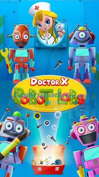 Doctor X:iOS1.1用のロボットラボ-iPhone / iPad上のロボットラボゲーム