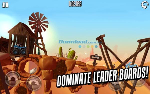 Motoheroz pour iOS 3.0 - Jeu de course de terrain pour iPhone / iPad
