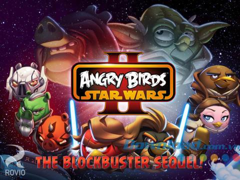 Angry Birds Star Wars II pour iOS 1.9.24 - Jeu Jedi Bird Angry II pour iPhone / iPad