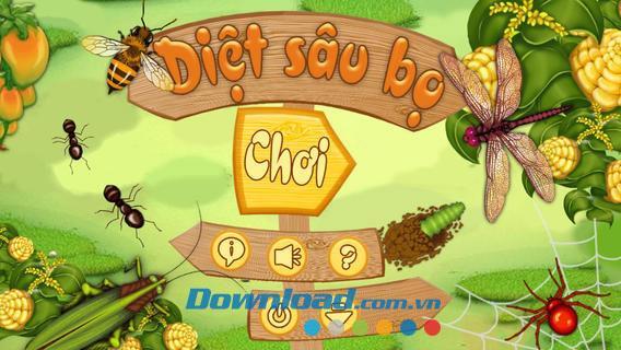 Insektenvernichter für iOS 1.0 - Spielen Sie ein Spiel, um Fehler auf dem iPhone zu töten