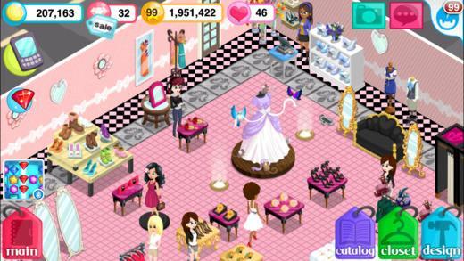 Fashion Story pour iOS 1.7.3 - Beau jeu de gestion de boutique de mode