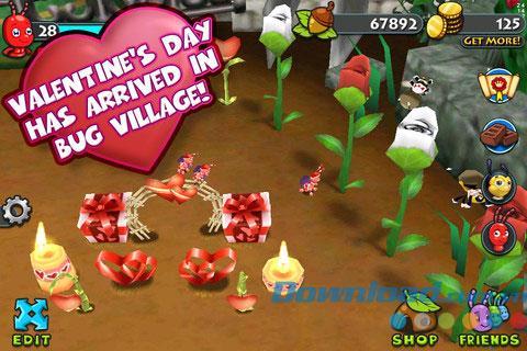 Bug Village HD für iOS 1.7.0 - Spielstadtinsekten für iPhone / iPad