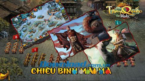 Tam Quoc pour iOS 2.0 - Meilleur jeu de stratégie