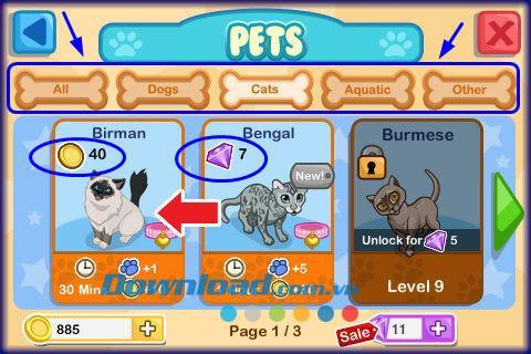 Pet Shop Story für iOS 1.1.4 - Pet Shop-Spiel für iPhone / iPad