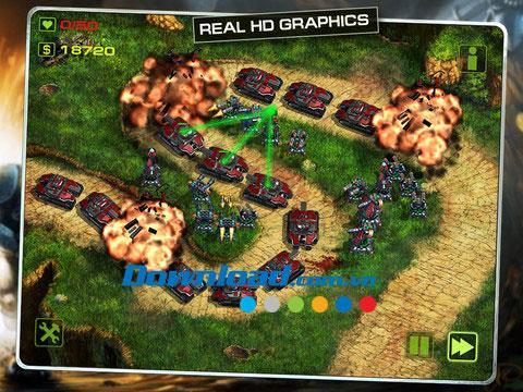 Epic War TD for iPad1.3.9-iPadで街を守るゲーム