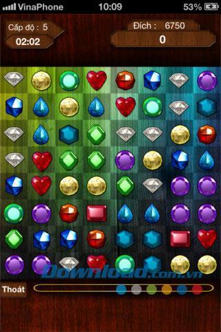 iOS1.1.0用ベトナムダイヤモンド-クラシックダイヤモンドゲーム