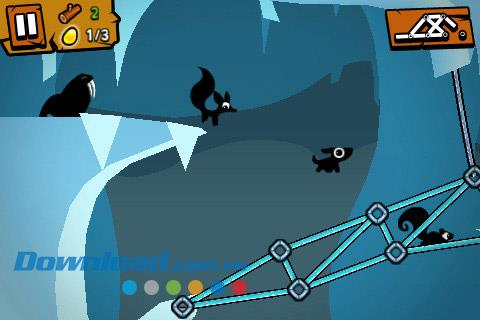 Bridge Odyssey Free pour iOS 1.0.7 - Une aventure de jeu attrayante sur iPhone / iPad