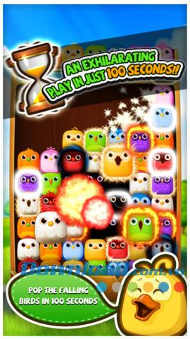 iOS1.0.0用のLineBirzzle Friends-iPhone / iPad用のゲーム遊び心のある鳥