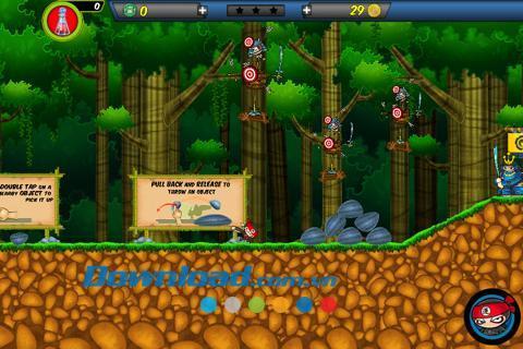 Chop Chop Ninja World for iOS 1.2-iPhone、iPod、iPadの忍者ワールドゲーム