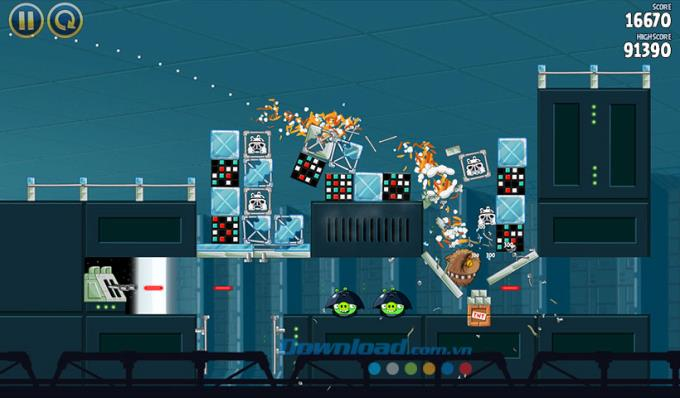 Angry Birds Star Wars pour iOS 1.5.12 - Jeu Angry Birds pour iPhone, iPad, iPod
