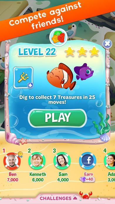 iOS1.3.3用フィッシュフレンジーマニア-海の生き物のパズルゲーム