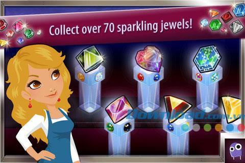 Jewel Factory pour iOS 3.2.0 - Jeu Gem Factory pour iPhone / iPad
