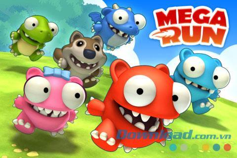 Mega Run - Redfords Abenteuer für iOS 1.2.1 - Spieleabenteuer mit Redford für iPhone / iPad