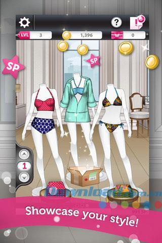 Fashion Star Boutique für iOS 1.6 - Game Fashion Star für iPhone / iPad