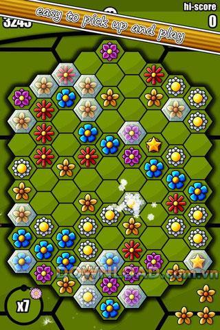 Hexbee für iOS - Puzzlespiel für iPhone