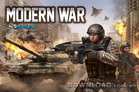 iOS向けの現代戦争-ゲームは世界的な軍事帝国を築く