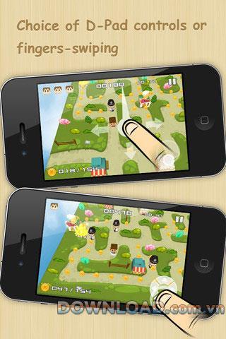 Paco Mania pour iOS - Jeu pour trouver des trésors sur iPhone