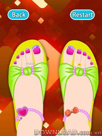 Makeup-Dream Toes HD pour iPad - Maquillage pour les pieds sur iPad