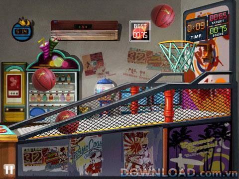 iPad用バスケットボールトス-iPad用バスケットボールゲーム