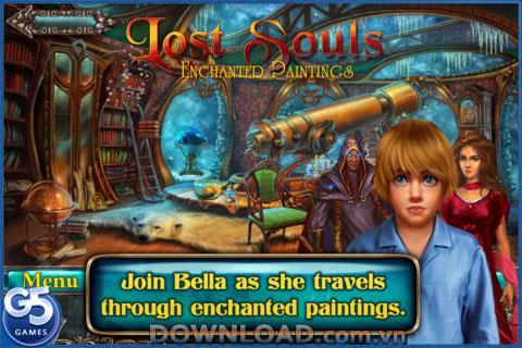 Lost Souls: Enchanted Paintings pour iOS - Rescue Boy kidnappé