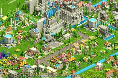 Elf City Online für iOS - Städte bauen