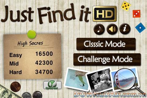 Just Find It HD Free pour iOS - Divertissement de jeu pour iPhone