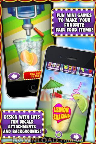 Fair Food Maker pour iOS - Divertissement de jeu pour iPhone