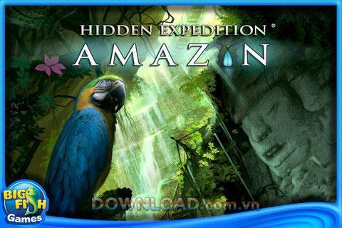 アマゾン:隠された遠征-アマゾンの熱帯雨林を探索する