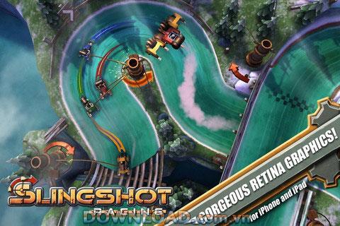 Slingshot Racing pour iOS - Jeu de course sur iPhone