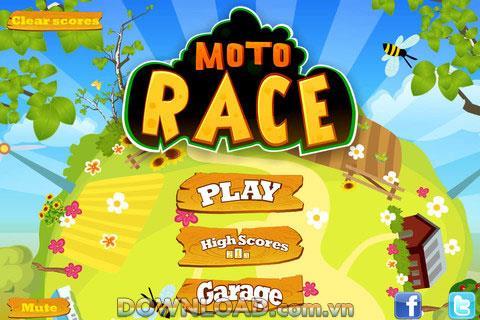iOS用MotoRace Free-iPhone用ゲームエンターテインメント