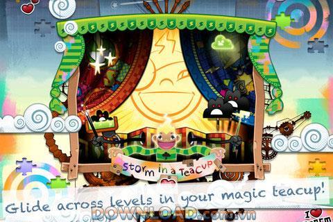 Storm in a Teacup pour iOS - Aventure avec Storm