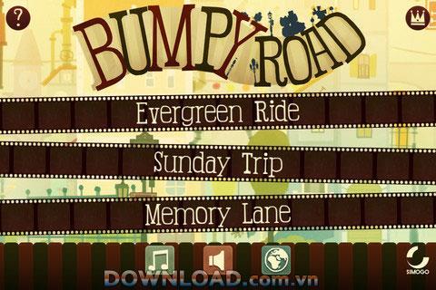 Bumpy Road für iOS - Eine Liebesgeschichte auf einem Allradfahrzeug