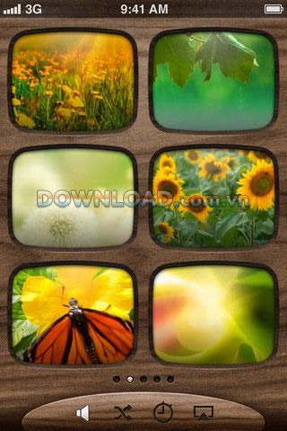 Serenity - Une application de divertissement pour iPhone