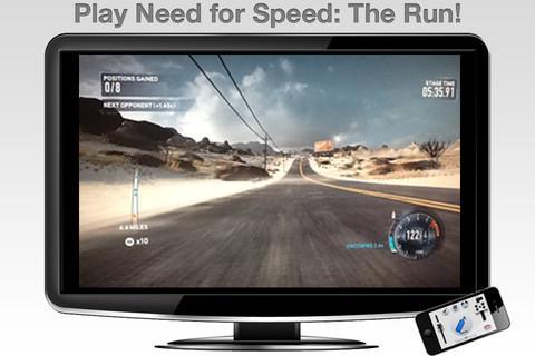 Flypad - Lenkrad für iPhone - Verwandeln Sie das iPhone in eine Fernbedienung, um Spiele auf dem PC zu spielen