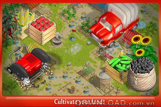 Sunshine Acres HD Lite für iPad - Farmspiel