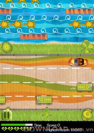 Crazy Lizard Free pour iOS - Trouvez votre chemin à la maison
