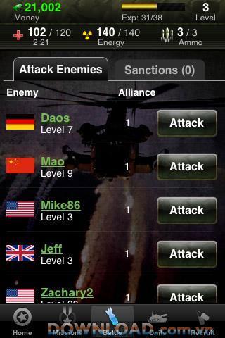 World War HD für iOS - Kämpfe um den Schutz des Landes