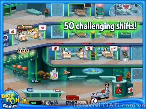 Hospital Haste HD foriPad-ヒーリングゲーム