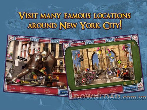 Großstadt-Abenteuer: New York City HD für iPad - Suche nach Schätzen