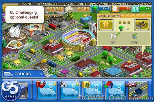 Virtual City Playground HD für iPad - Erstellen Sie virtuelle Städte