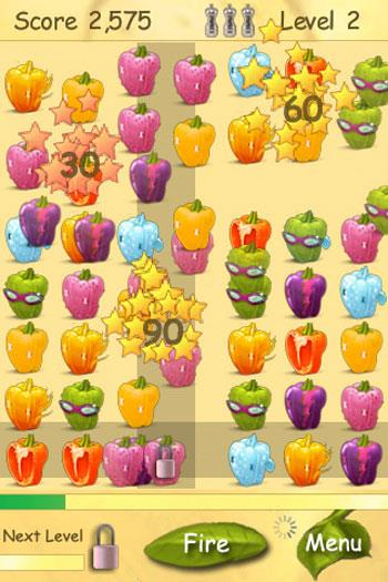 Peppers Lite The Game pour iOS