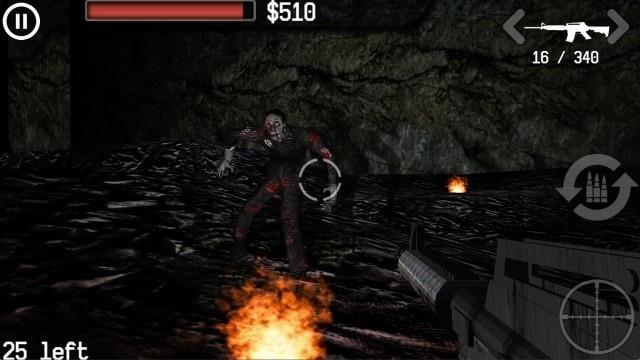 Zombies: The Last Stand Lite pour iOS 4.2 - Jeu de tir Zombies