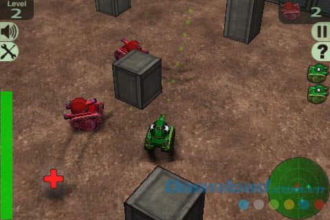 Crazy Tanks für iOS 1.3.3 - Das klassische 3D-Panzer-Shooter-Spiel