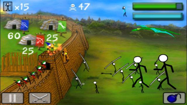 StickWars für iOS 1.9.0 - Stickman-Kriegsspiel auf iPhone / iPad