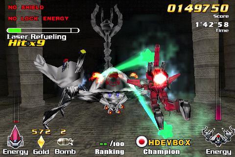 ExZeus für iOS 1.5 - Kampfroboter-Spiel